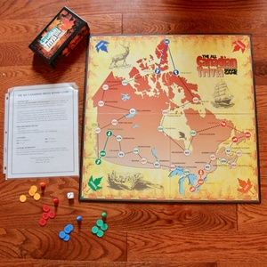 The All-Canadian Trivia Board Game